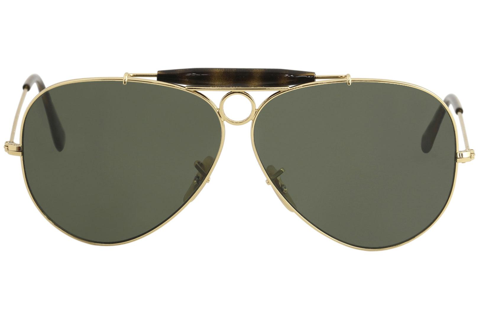 9ee02300407 ... low price ray ban mens shooter rb3138 rb 3138 rayban fashion aviator  sunglasses by ray ban