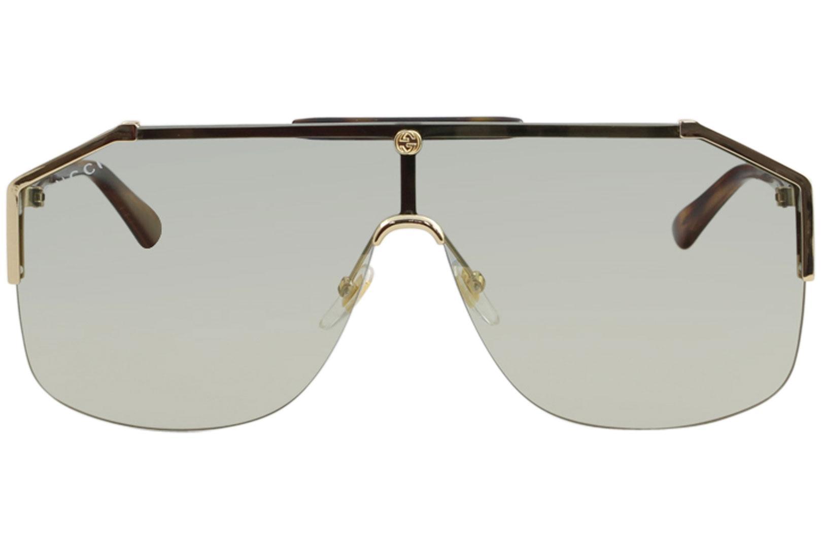 dd328971b172a Gucci Men s GG0291S GG 0291 S Fashion Shield Sunglasses