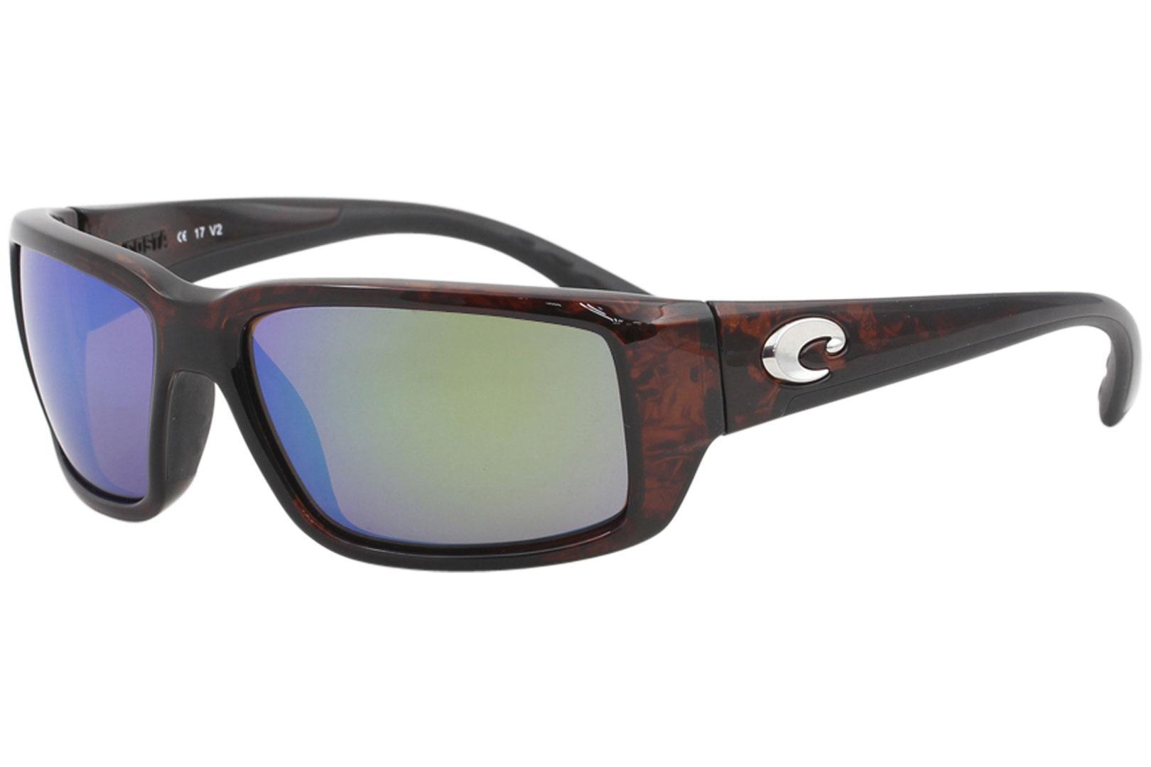 5e047aaf1fbaa Costa Del Mar Men s Fantail Polarized Rectangle Wrap Sunglasses by Costa  Del Mar