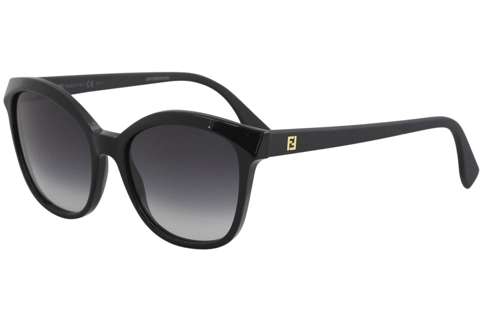 Fendi Women's FF0043/S FF/0043/S Fashion Cat Eye Sunglasses