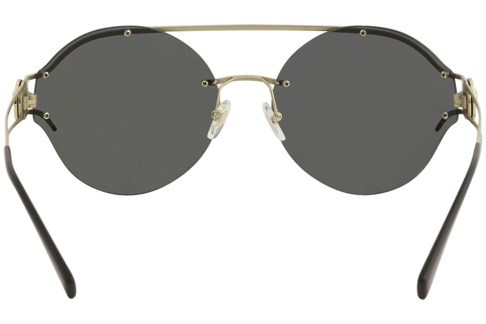 f3e13ef599cc5 Versace Women s VE2184 VE 2184 Fashion Round Sunglasses