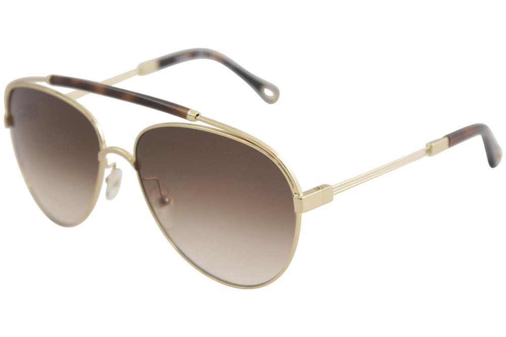 7cfc89776bc Chloe Women s CE141S CE 141 S Fashion Pilot Sunglasses