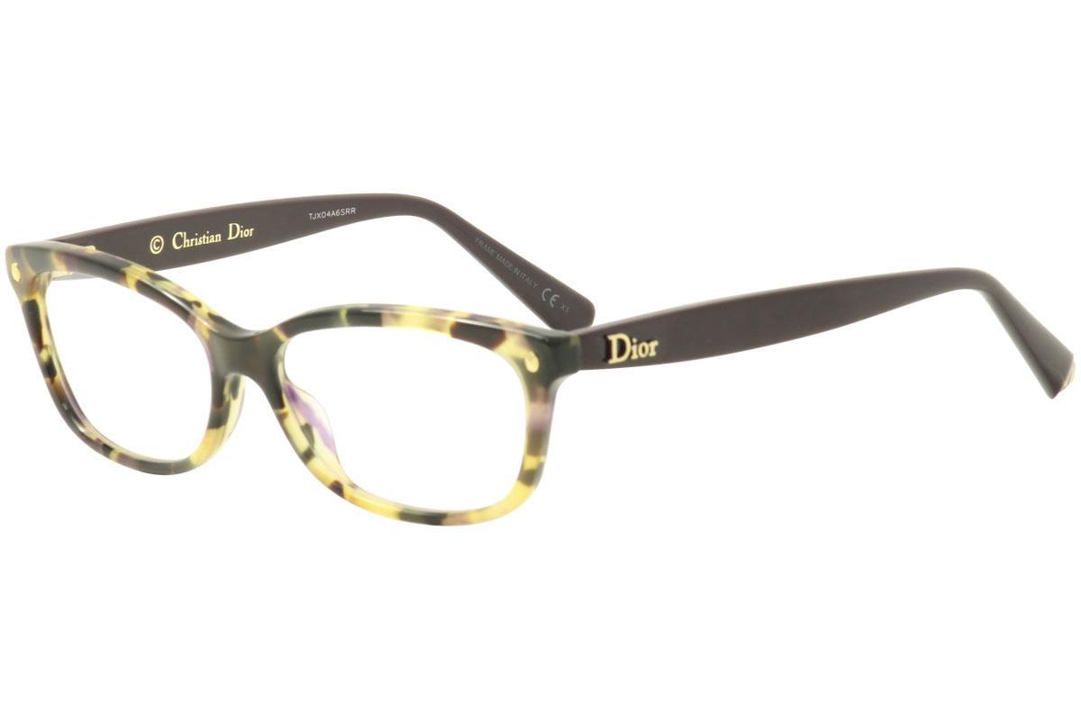 Image of Christian Dior Eyeglasses Les Marquises CD3265 CD/3265 Full Rim Optical Frame - Brown - Lens 54 Bridge 15 Temple 140mm