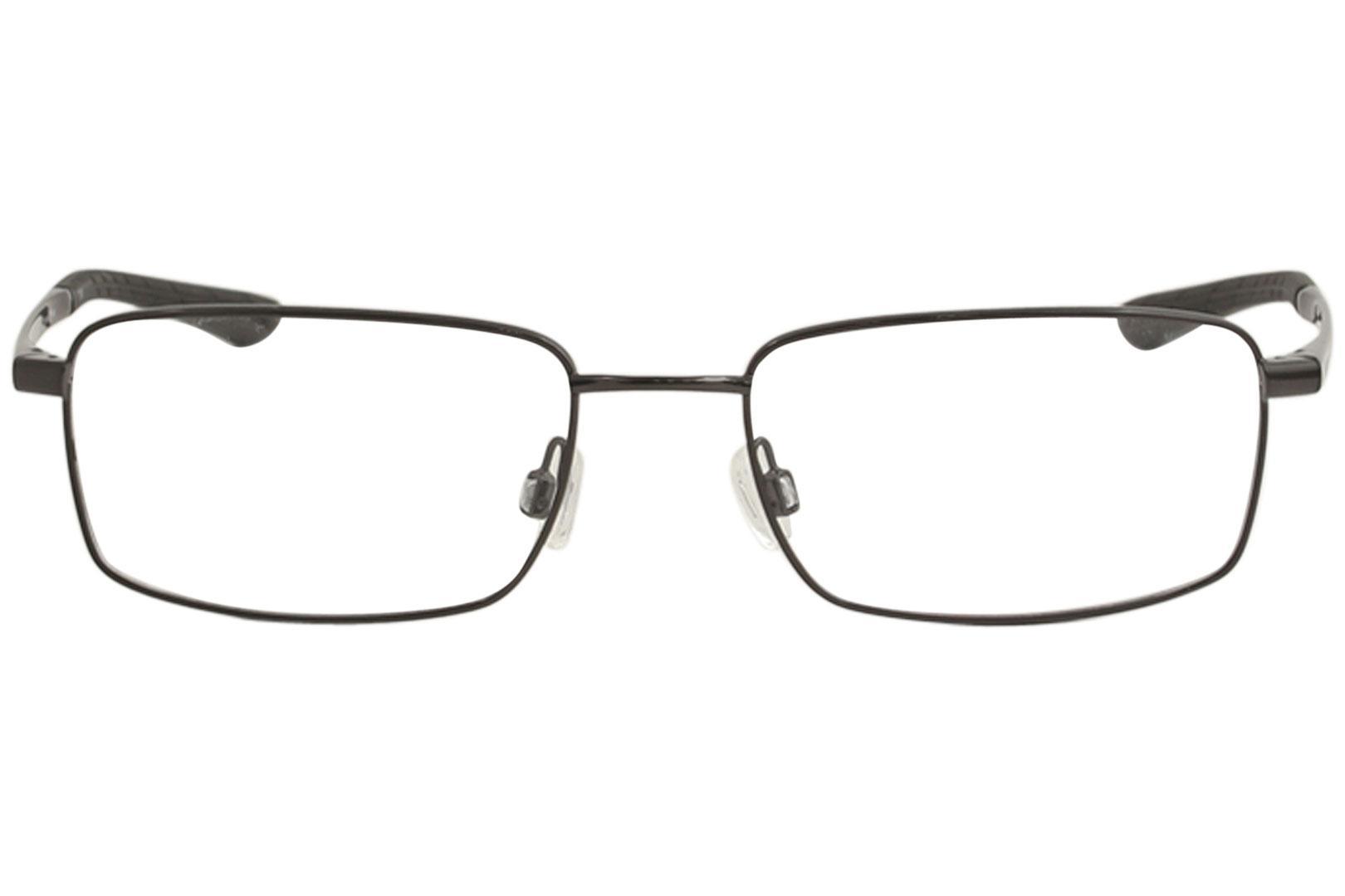 3adb2f95acda Nike Men's Eyeglasses 4283 Full Rim Flexon Optical Frame