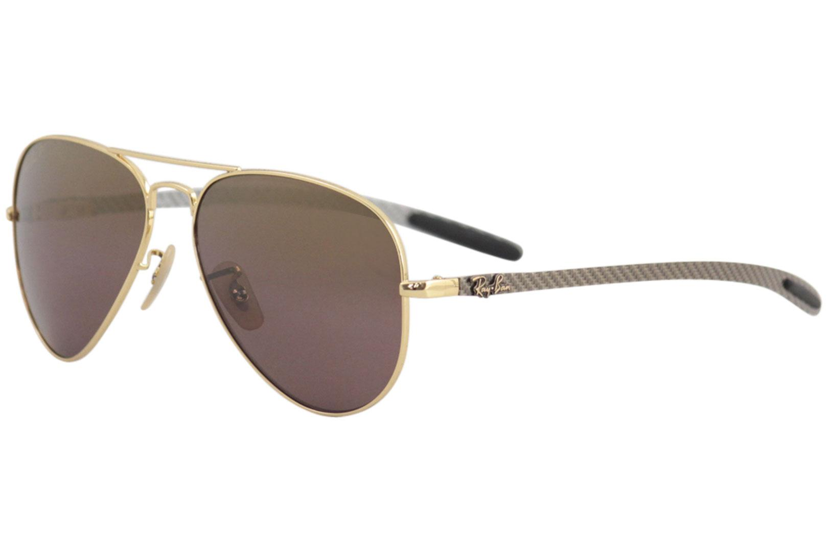 d1390096d5 Ray Ban Men's Chromance RB8317CH RB/8317/CH Pilot RayBan Polarized  Sunglasses