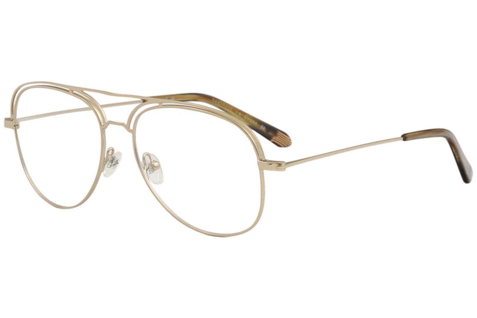 Image of Original Penguin Men's Eyeglasses The Daddy Full Rim Optical Frame - Gold - Lens 55 Bridge 16 Temple 145mm