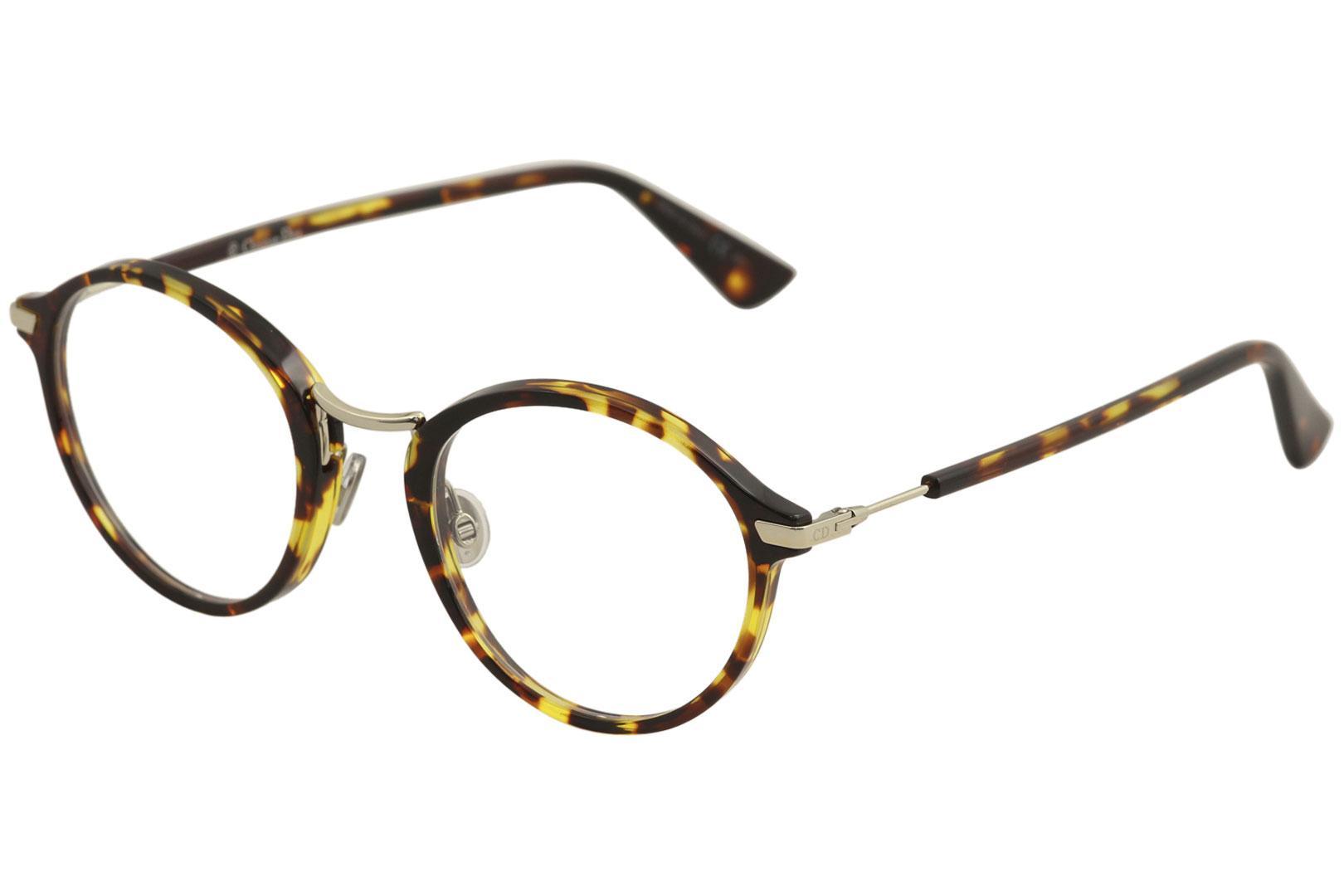 Image of Christian Dior Women's Essence 6 Eyeglasses Full Rim Optical Frame - Brown - Lens 49 Bridge 21 Temple 145mm