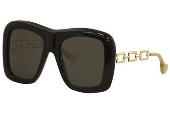 Gucci Women's GG0499S GG/0499/S Fashion Square Sunglasses
