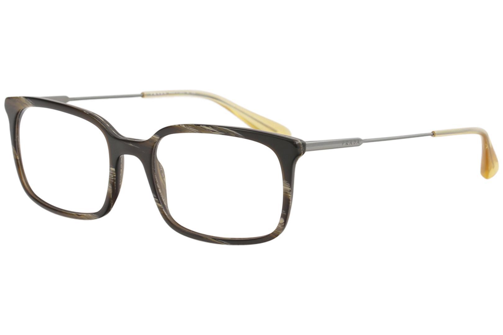 9504289dca3 Prada Men s Eyeglasses VPR16U VPR 16U Full Rim Optical Frame