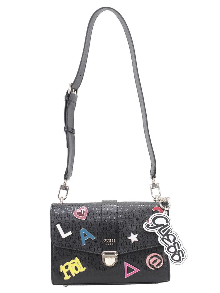 Guess Women s Tabbi Logo Shoulder Handbag f2065418064fd