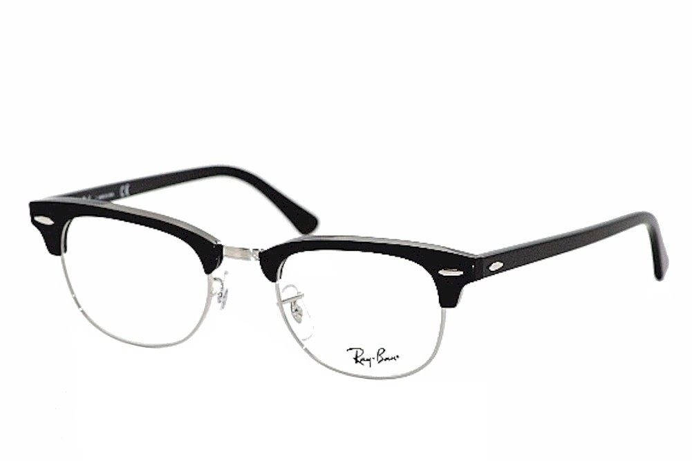 Ray Ban Eyeglasses Clubmaster 5154 2000 Black RayBan Optical Frame