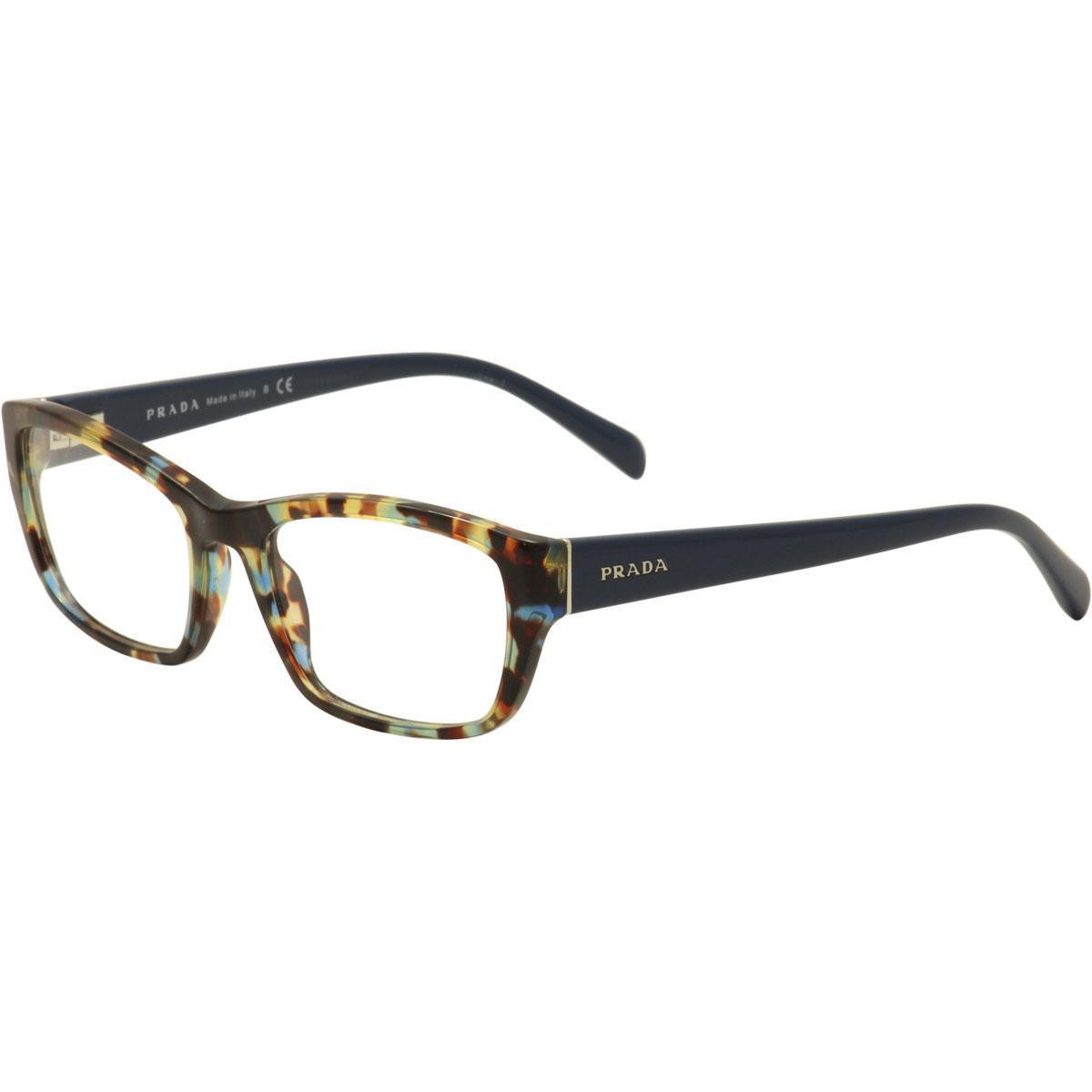 Prada Women's Eyeglasses VPR18O VPR/18O Full Rim Optical Frame