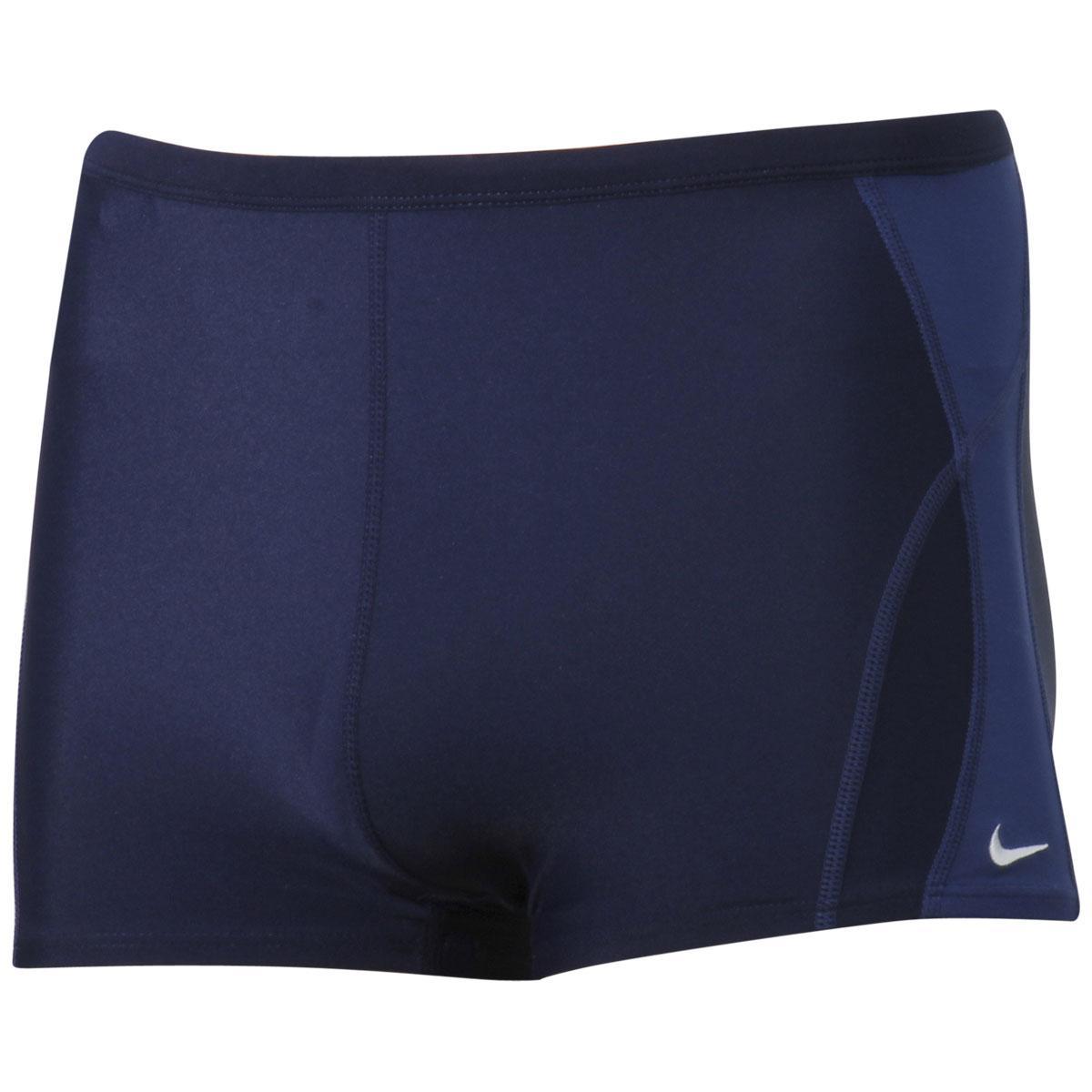 Nike Men's Poly Core Solids Square Leg Performance Swimwear