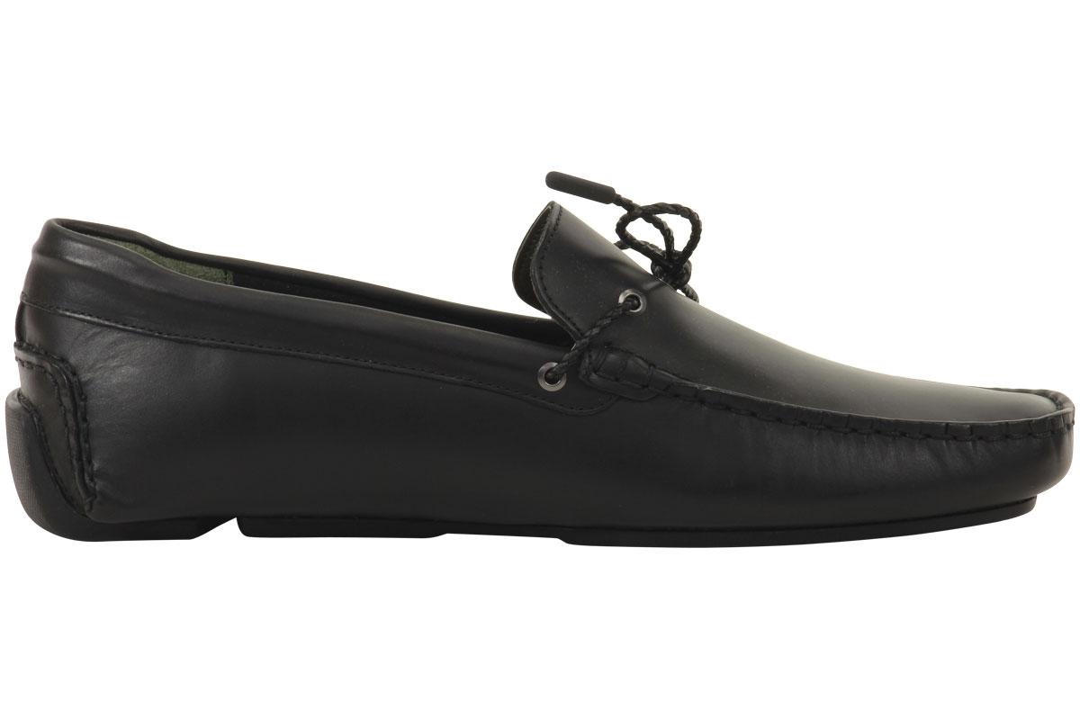 Lacoste Mens Piloter Corde Slip On Loafers Shoes D Island Moccasine Suede Black By