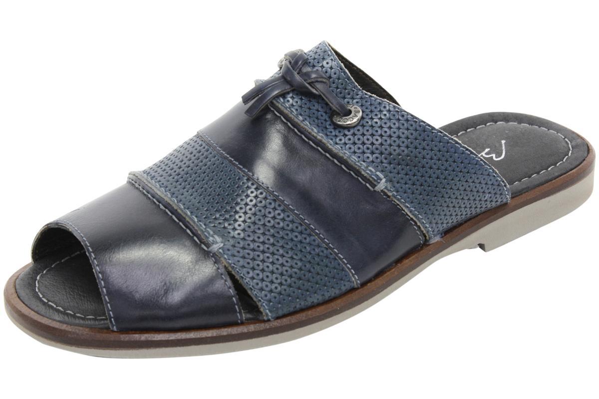 Image of Bacco Bucci Men's Laguna Slip On Mule Sandals Shoes - Blue - 8 D(M) US