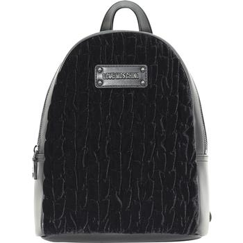 Love Moschino Women's Gathered Velvet Backpack Bag