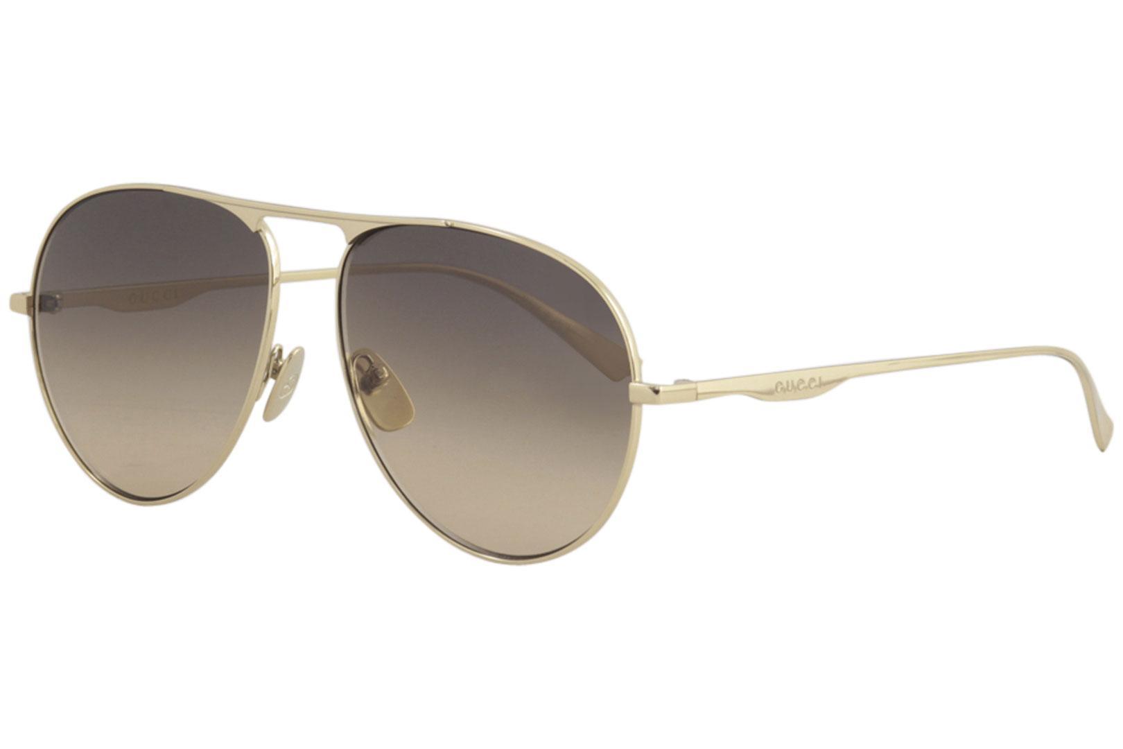 075ab5cfba9 Gucci Men s Urban GG0334S GG 0334 S Fashion Pilot Sunglasses