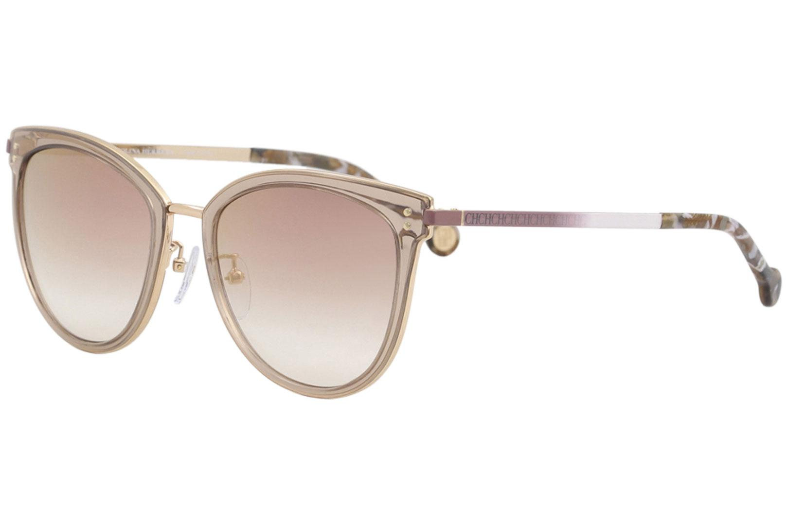 473f2b48f0 CH Carolina Herrera Women s SHE102 SHE 102 Fashion Cat Eye Sunglasses
