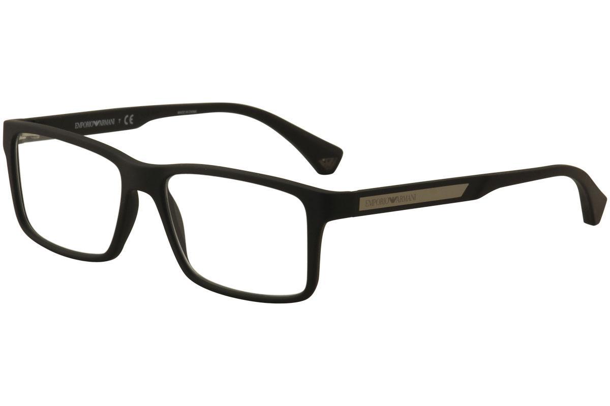 f69726383a4 Emporio Armani Men s Eyeglasses EA3038 EA 3038 Full Rim Optical Frame