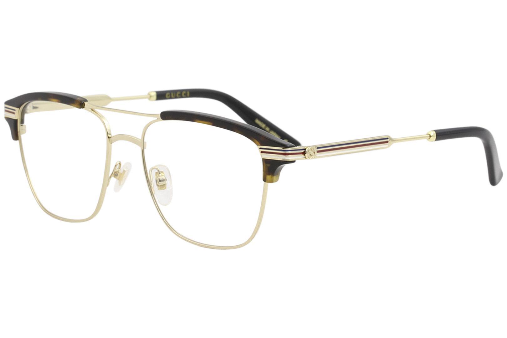 983c5f82b744 Gucci Men s Eyeglasses GG0241O GG 0241 O Full Rim Optical Frame