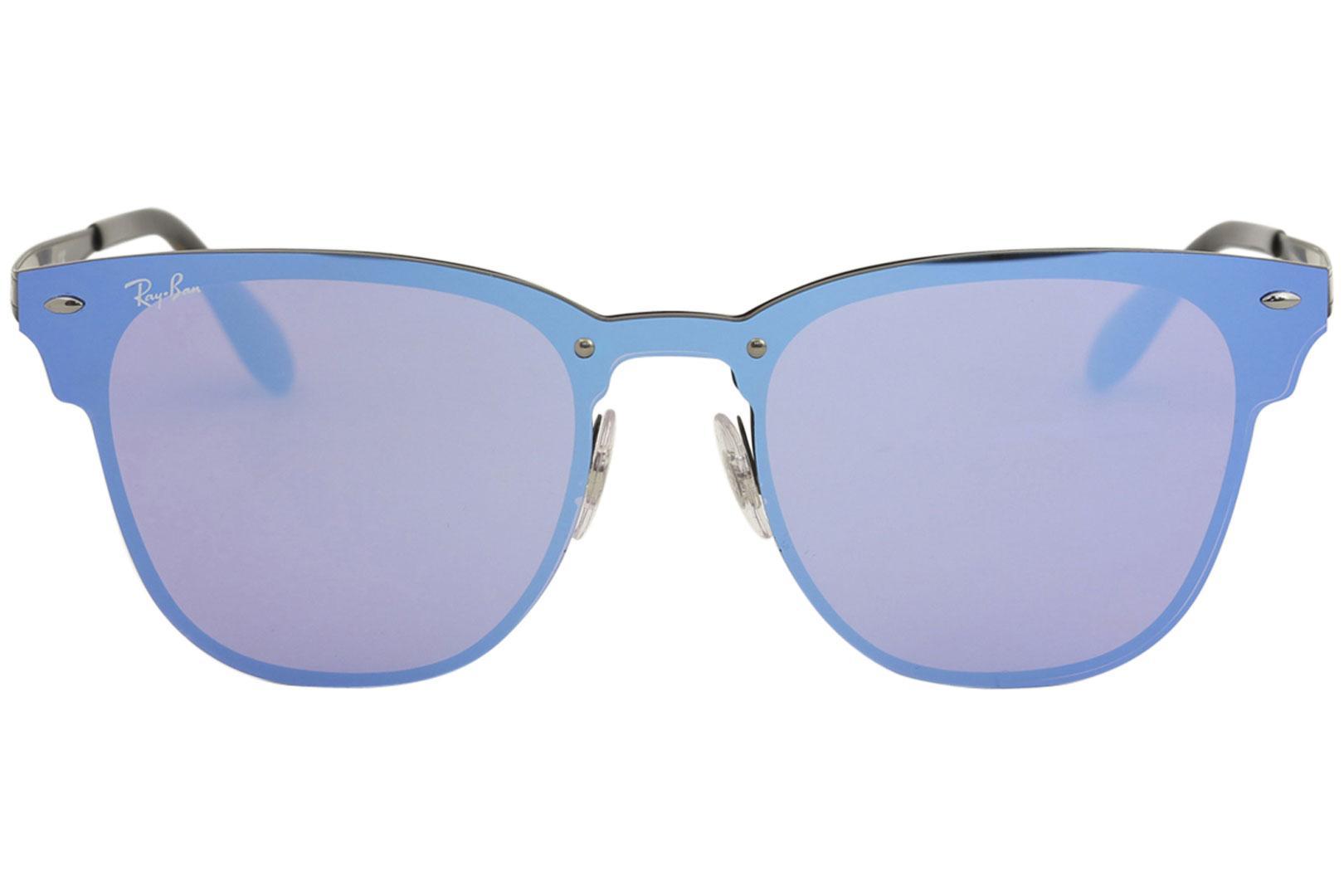 4bda8c7134 Ray Ban Blaze Clubmaster RB3576N RB 3576 N RayBan Fashion Square Sunglasses