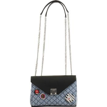 Guess Women's Rochelle Mini Quilted Convertible Crossbody Handbag UPC: