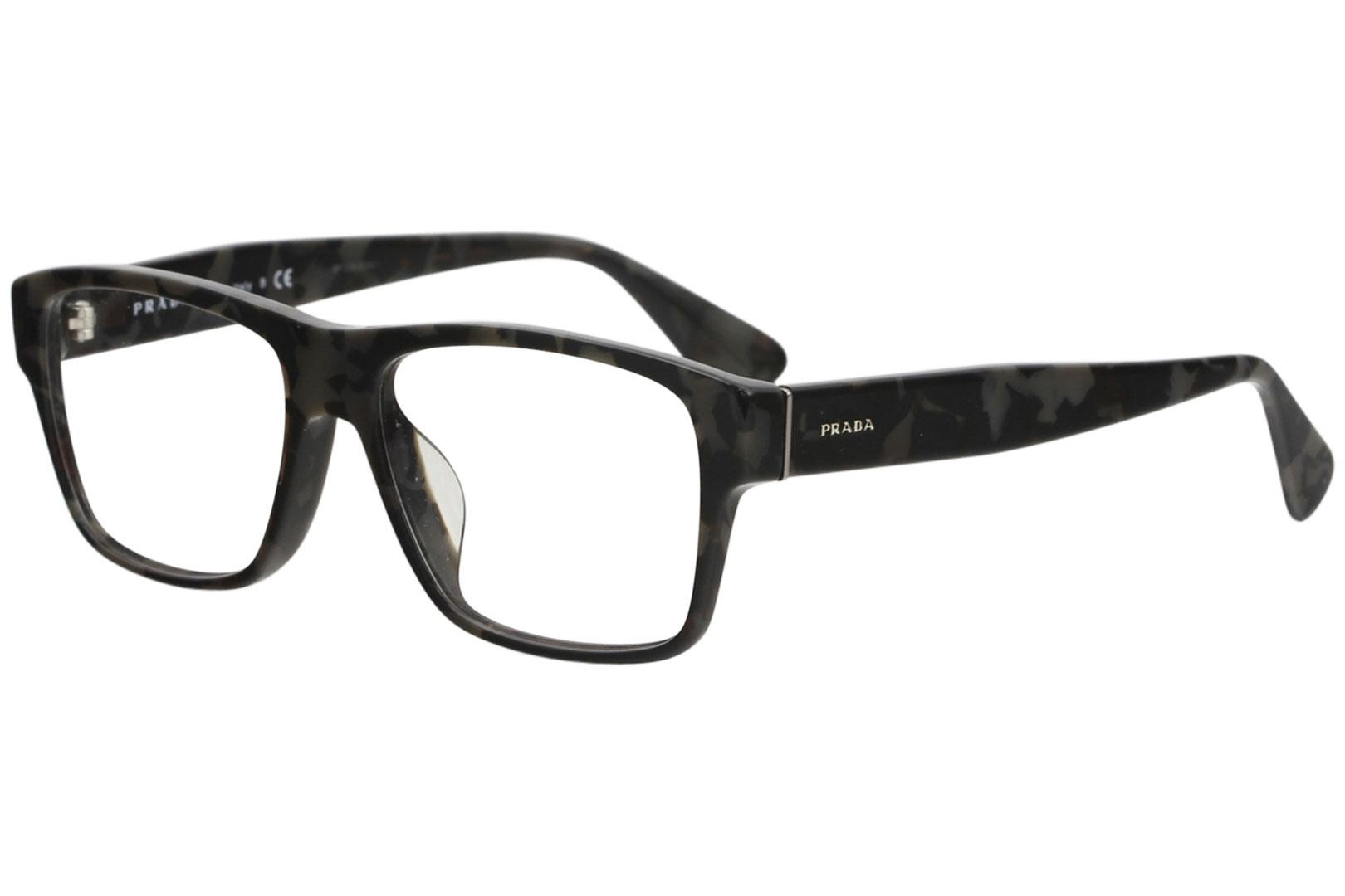86d484d1413bd Prada Men's Eyeglasses VPR17SF VPR/17/SF Full Rim Optical Frame