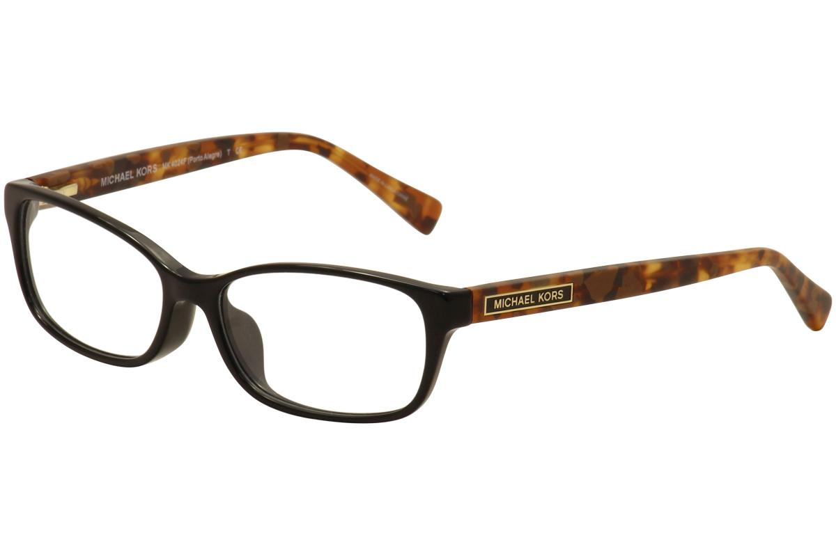 2d6f3ace837eb Michael Kors Women s Eyeglasses Porto Alegre MK4024 Full Rim ...