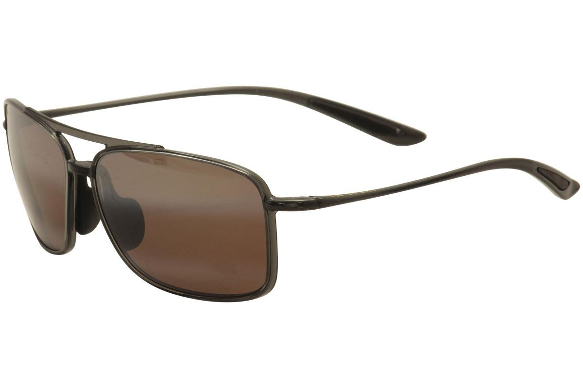 3a84dfb025 Maui Jim Men s Kaupo Gap MJ437 MJ 437 Polarized Fashion Sunglasses by Maui  Jim