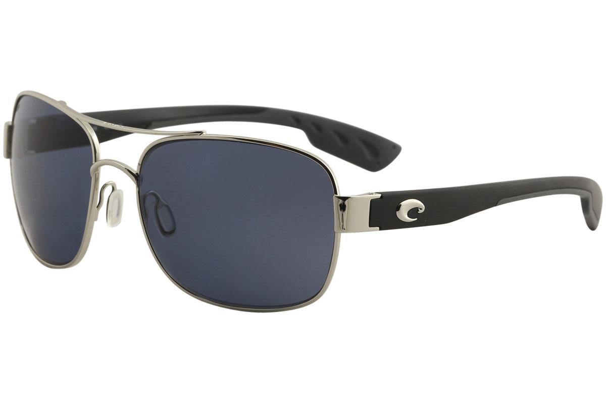 45ae8d4bb5 Costa Del Mar Men s Cocos Polarized 580P Fashion Square Sunglasses