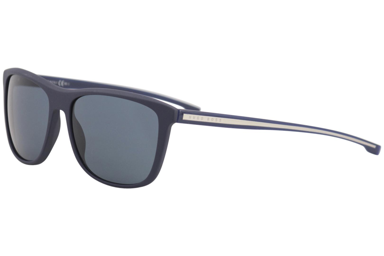 5e9f424da2 Hugo Boss Men s 0874S 0874 S Fashion Square Sunglasses