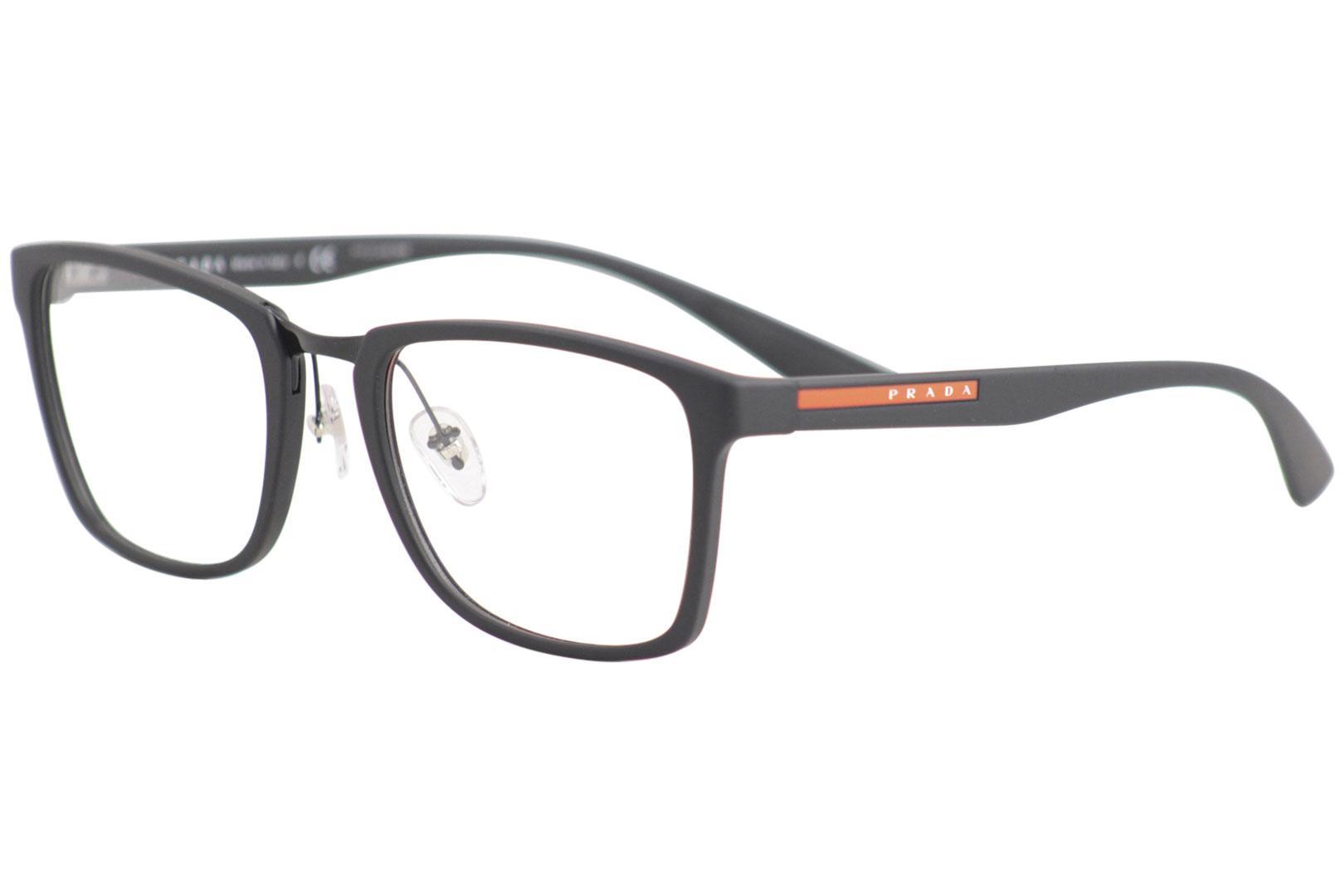0d3ea3147a63 Prada Men's Linea Rossa Eyeglasses VPS06L VPS/06/L Full Rim Optical Frame