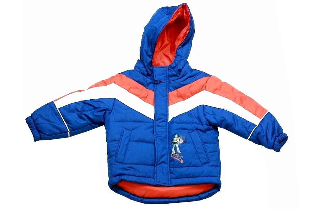 Toy Story kids Boys Jacket Blue Buzz Woddy Hoodie Coat