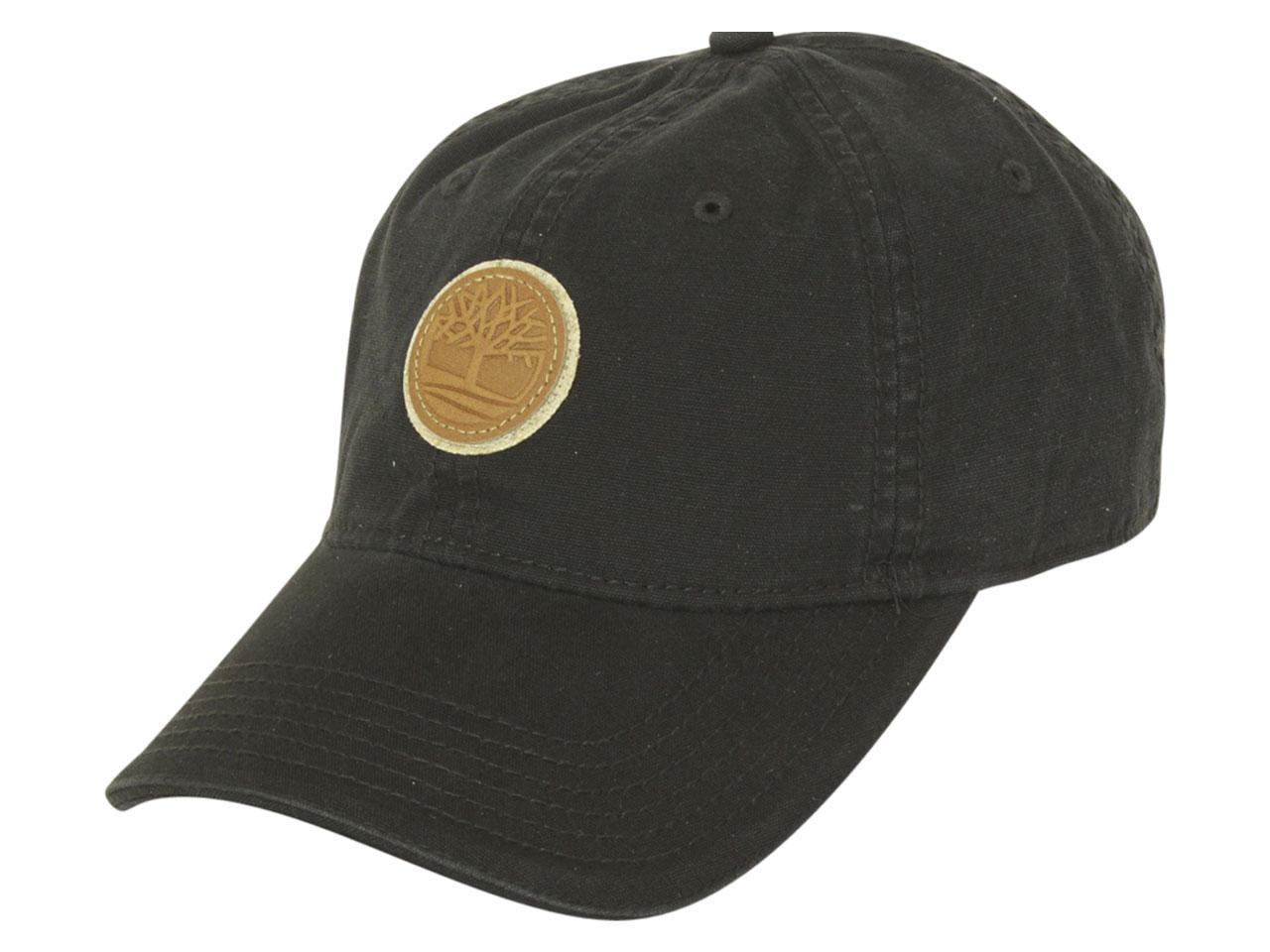 59fc3695 Timberland Men's Rye Beach Cotton Canvas Strapback Baseball Cap Hat