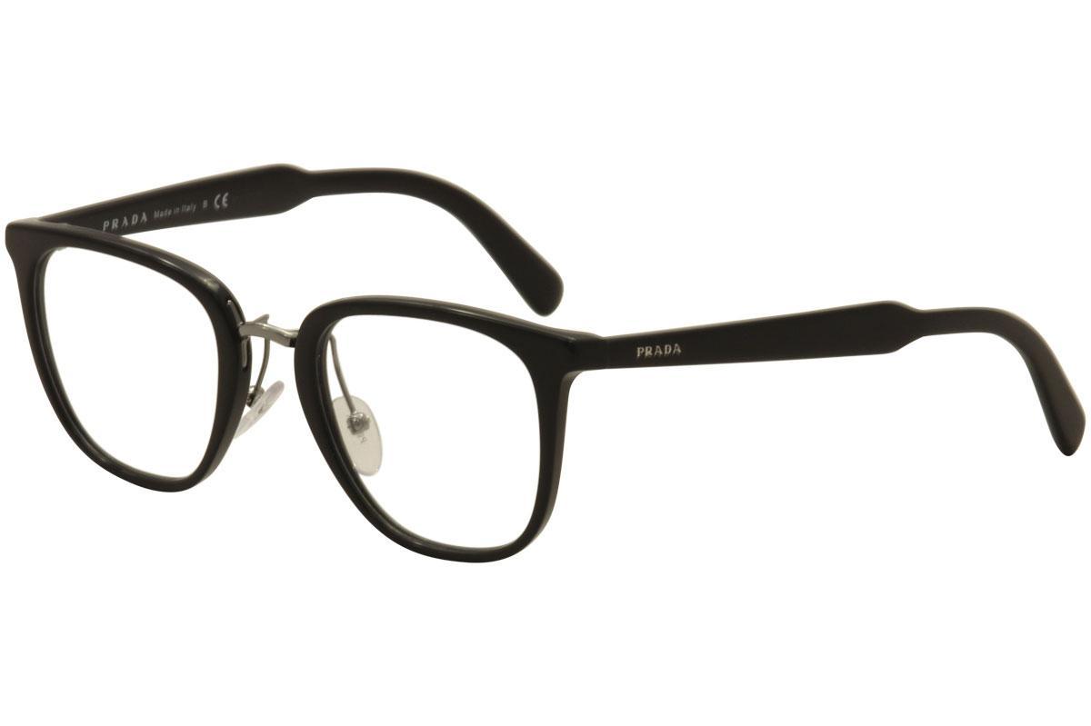Prada Men\'s Eyeglasses VPR10T VPR/10/T Full Rim Optical Frame
