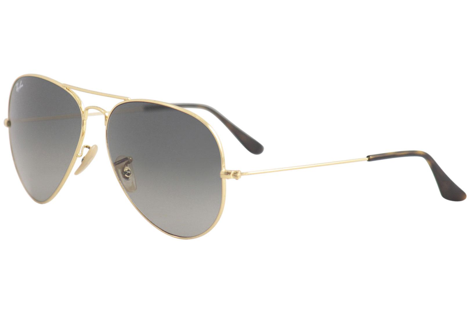 138fd28d86 Ray Ban RB3025 RB 3025 181 71 Gold Grey Gradient Aviator RayBan ...