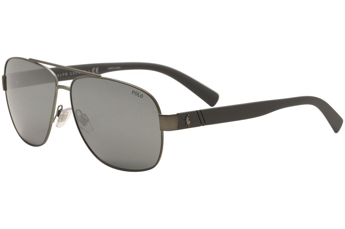 e945d780128 Polo Ralph Lauren Men s PH3110 PH 3110 Pilot Sunglasses