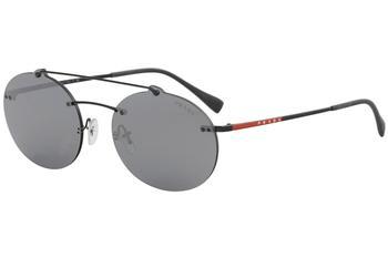 5a26844e802d Prada Linea Rossa Men s SPS56T SPS 56T Fashion Oval Sunglasses by Prada  Linea Rossa