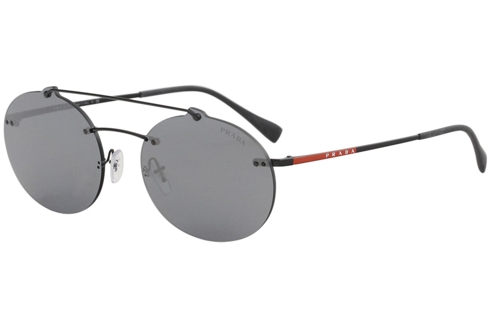 052b226d00c4 ... Men s SPS56T SPS 56T Fashion Oval Sunglasses by Prada Linea Rossa.  Touch to zoom