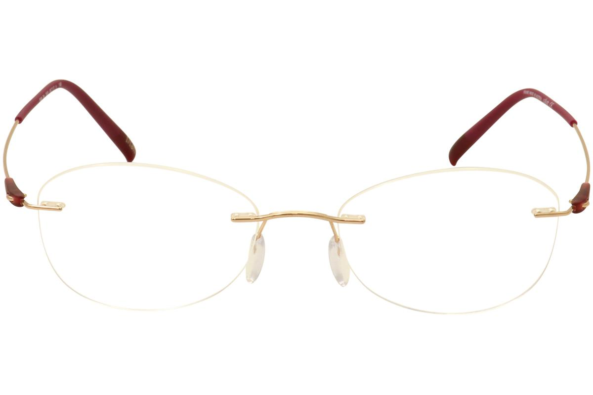 b8448dfa85 Silhouette Eyeglasses Dynamics Colorwave Chassis 5500 Rimless Optical Frame  by Silhouette