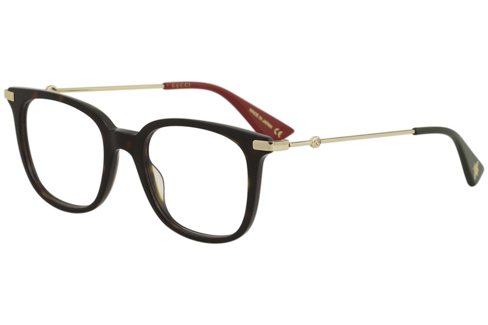 d21827ab66 Gucci Women s Eyeglasses GG0110O GG 0110 O Full Rim Optical Frame by Gucci