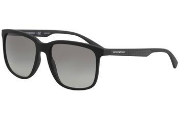 a37c6b8dcb72 Emporio Armani Men s EA4104 EA 4104 Square Sunglasses