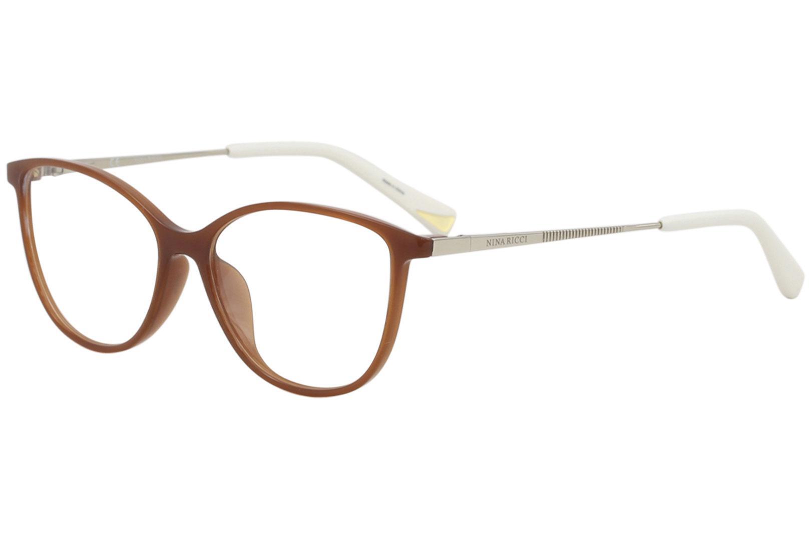 b6a8ab2219 Nina Ricci Women s Eyeglasses VNR034 VNR 034 Full Rim Optical Frame