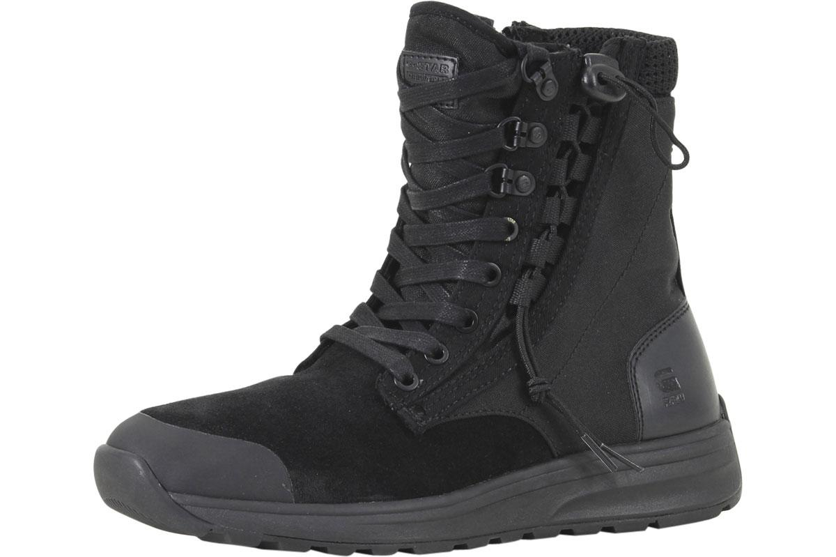 Image of G Star Raw Men's Cargo High Top Sneakers Shoes - Black - 9 D(M) US
