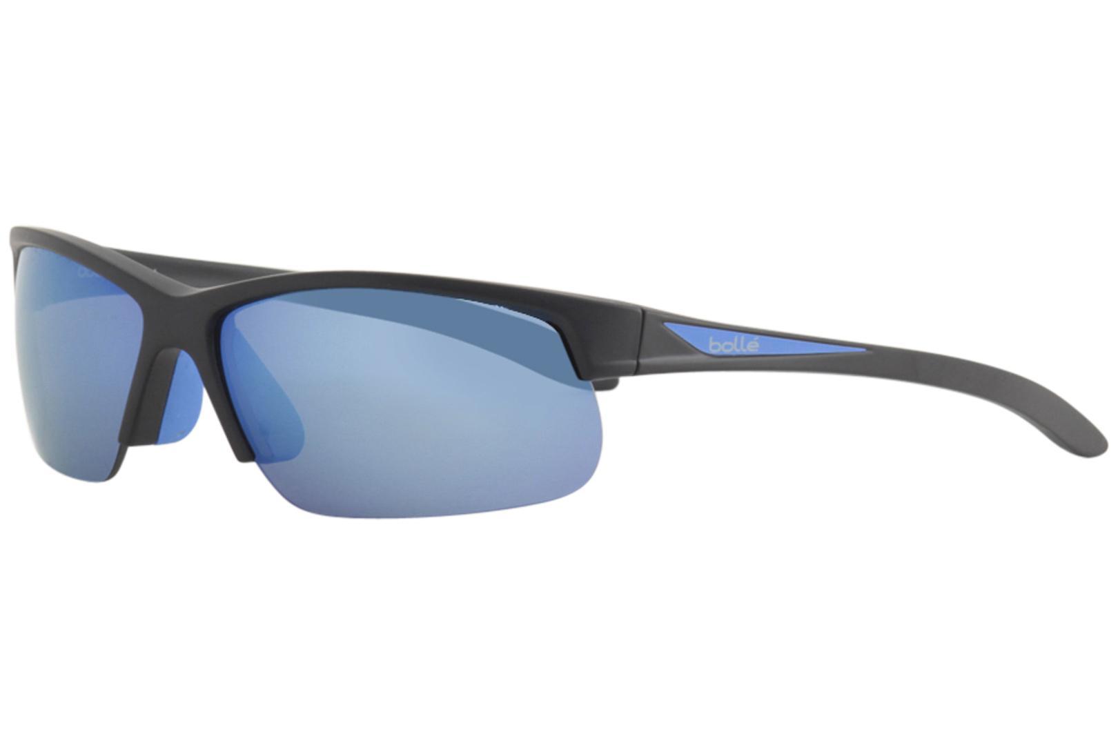 0d0661bbd1 Bolle Men s Breaker 12110ST 12110 ST Sport Wrap Sunglasses