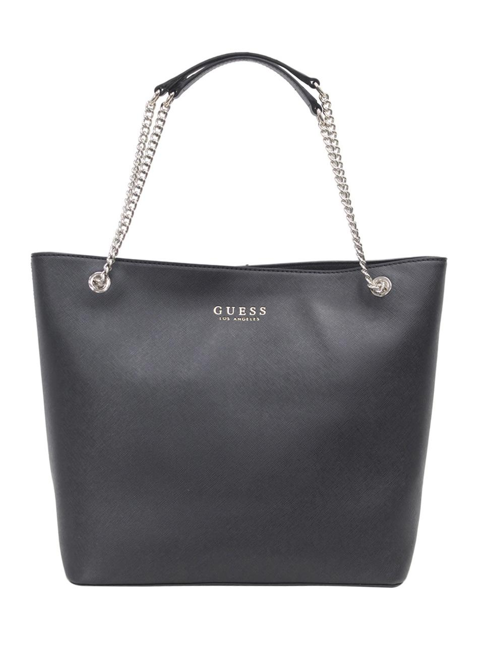 8c3cea3b1de Tote Negro Robyn Mujer Guess Ebay Bolso xYpaAqg