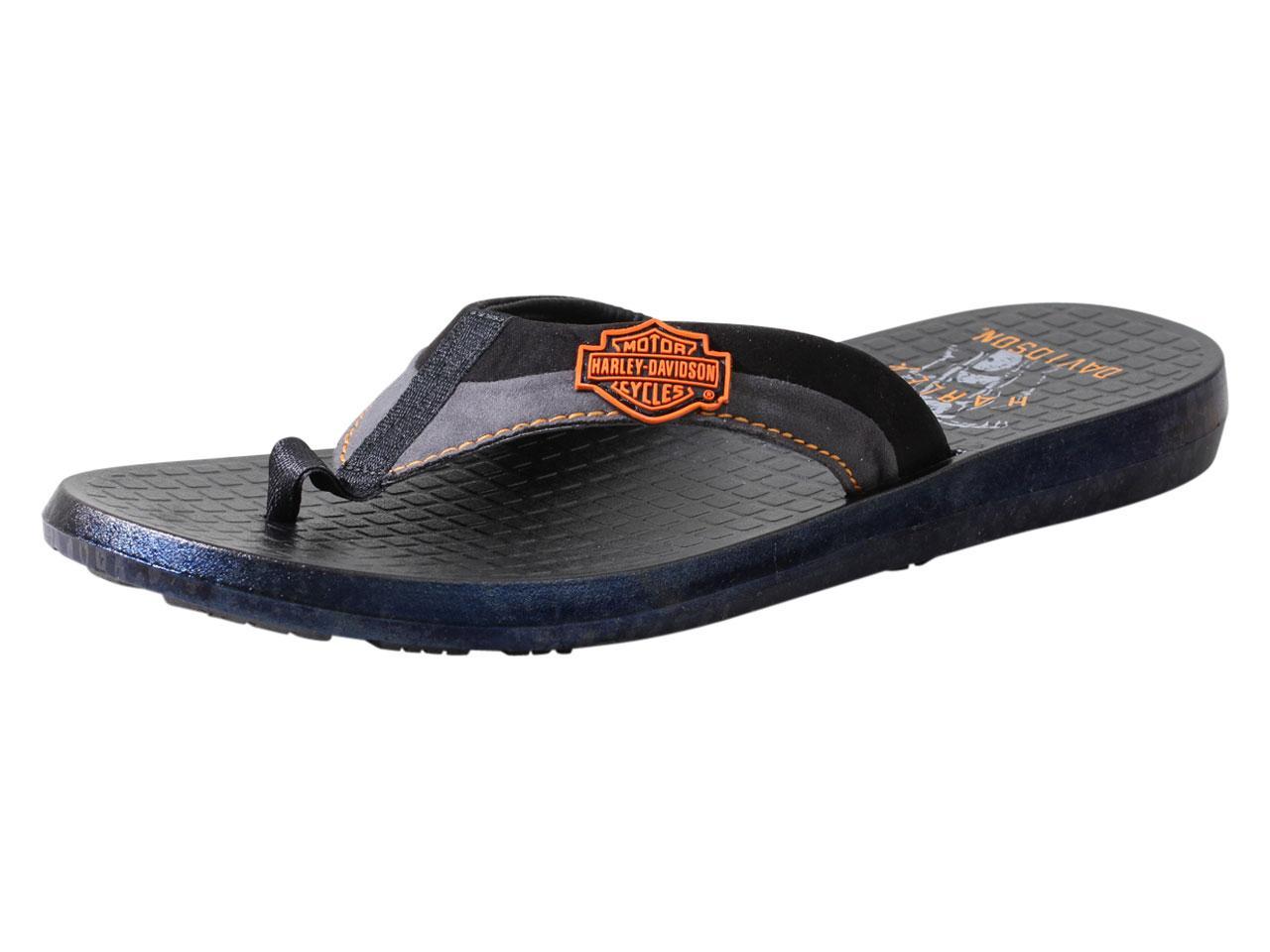 491c13477fbc42 Harley-Davidson Men s Adams Flip Flops Sandals Shoes