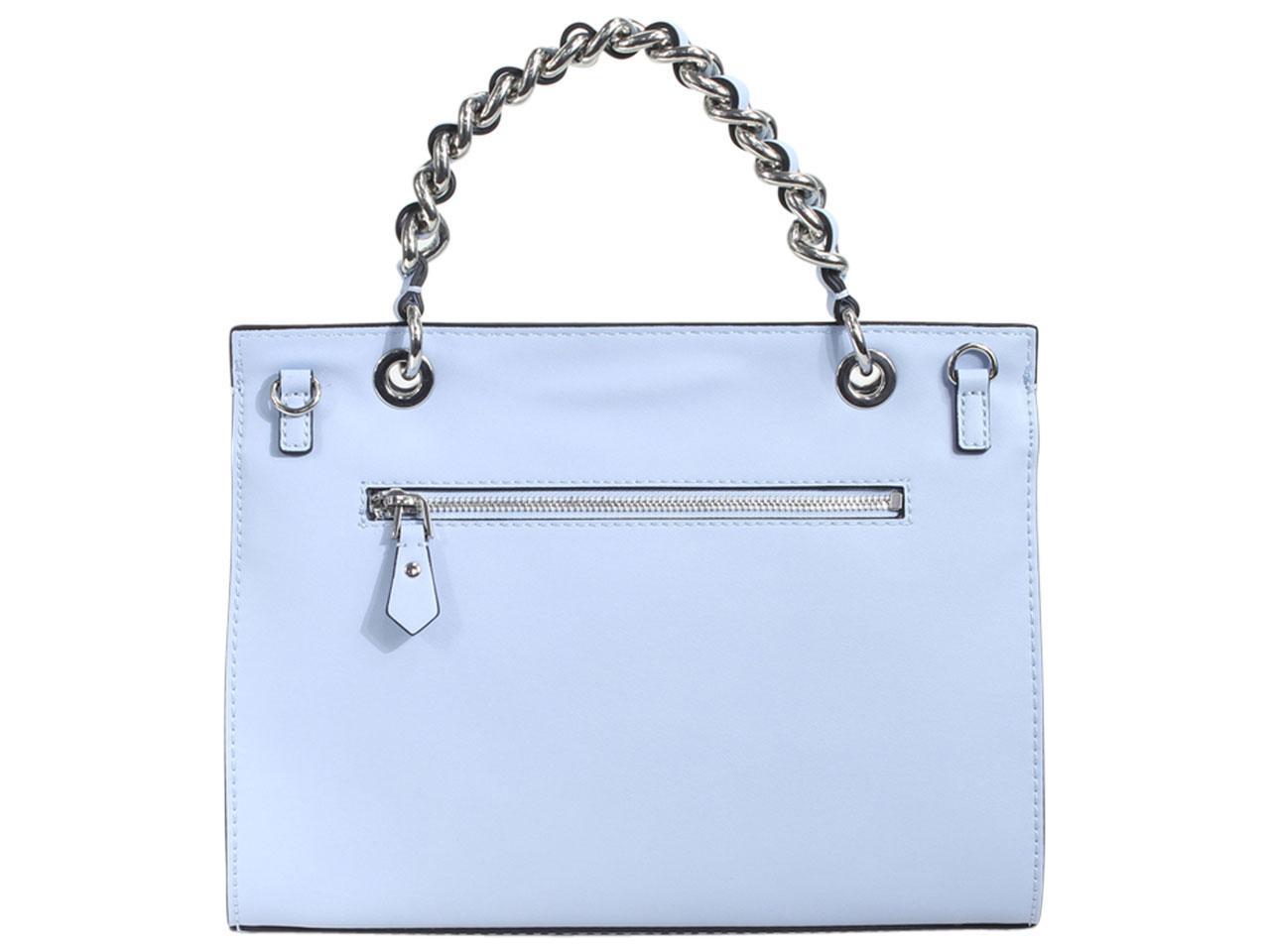 Guess-Women-039-s-Sawyer-Chain-Crossbody-Satchel-Handbag