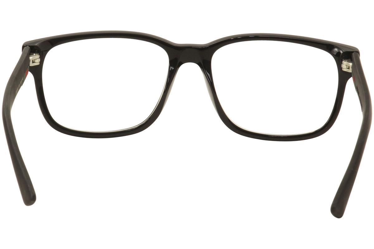 39f68c6761 Gucci Men s Eyeglasses GG0011O GG 0011O Full Rim Optical Frame