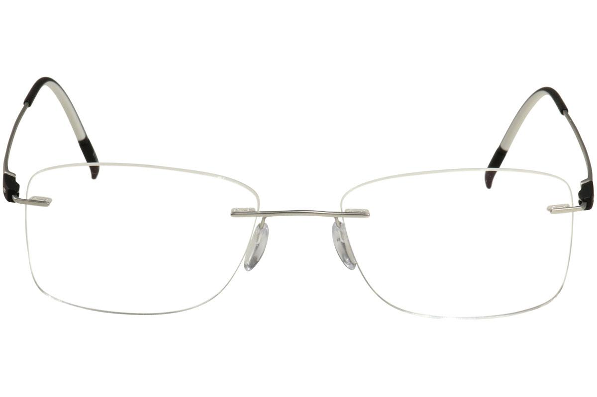 Silhouette Eyeglasses Racing Collection Chassis 5502 Rimless Optical ...